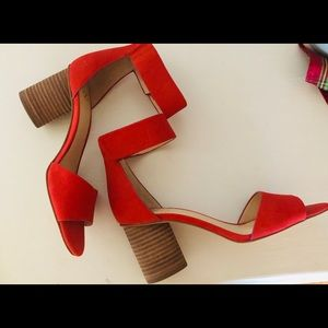 Vince Camuto Red Sandle